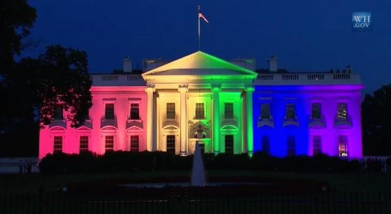 Obama Puts It In America's Face – Turns White House Into Rainbow House – But God Won't Be Mocked