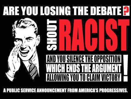 shout racist