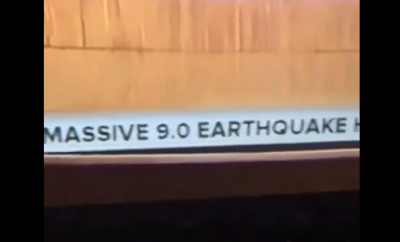 Video: NBC Today Show news ticker predicts mega earthquake in California