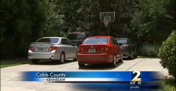 FAMILY THREATENED WITH GOVERNMENT FINE FOR PARKING CARS IN THEIR OWN DRIVEWAY