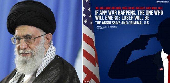 Iran's Ayatollah Khamenei Threatens US & Mocks Obama