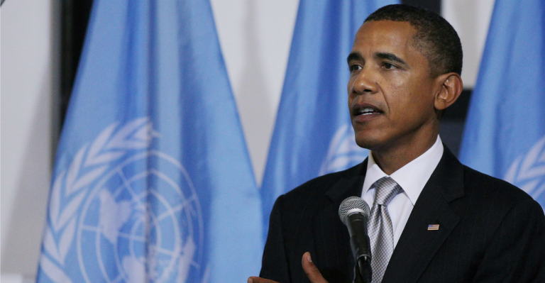 Obama Urges Congress to Cave to International Consensus Rather Than Obey the Constitution