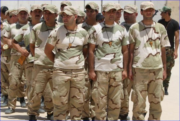 christian militia mosul iraq 2