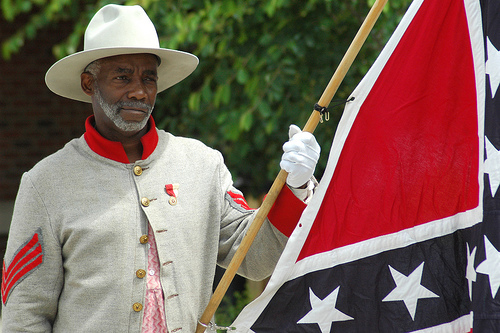 Former Naacp President Supports Confederate Flag Black