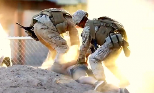 MARINES ARREST ROLE PLAYER DURING INTERNMENT CAMP TRAINING IN ARIZONA – MARINES.MIL