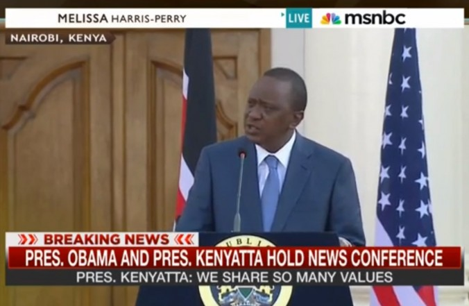 Kenyan President to Obama: You Will not Impose The 'Gay Rights' Agenda In Kenya