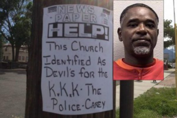 Black Suspect Arrested After Fake Hate Message Discovered Outside Predominantly Black Churches