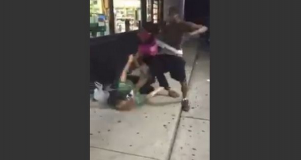 Liberal feminists ignore ruthless attack on white woman by black couple