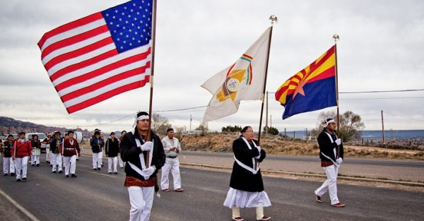 Watch Native American Activists Literally Chase John McCain Off Navajo Land