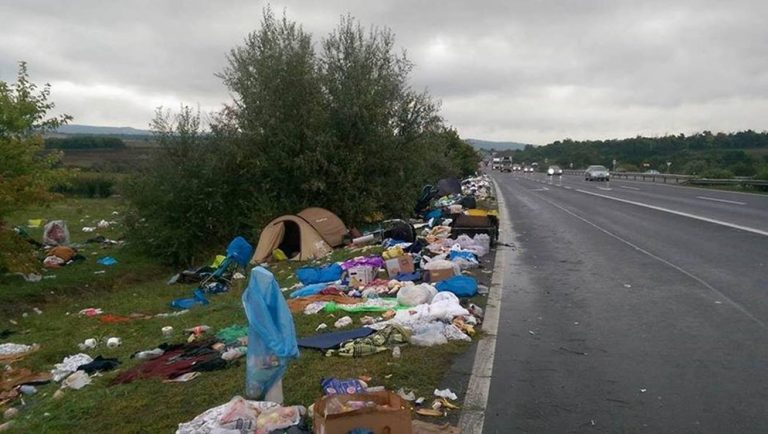"Look at the Trash and Destruction Left Behind Muslim ""Refugees"""