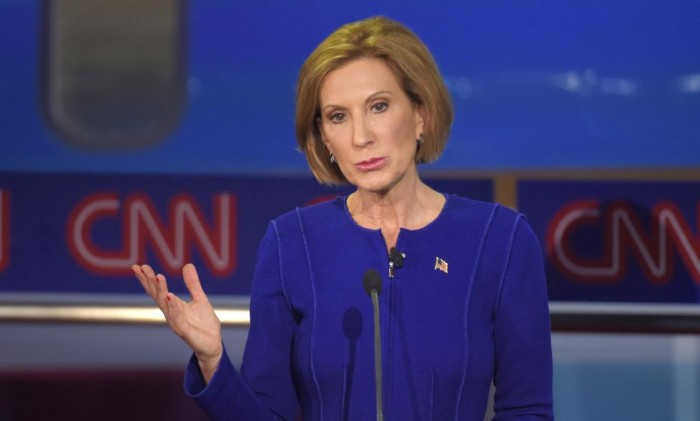 Fiorina Blasts Planned Parenthood – But Financed Website that Touted Planned Parenthood