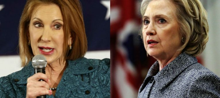 """More Hypocrisy of Carly Fiorina Unmasked in Audio & Video: """"Hillary Clinton was a Great Candidate"""""""