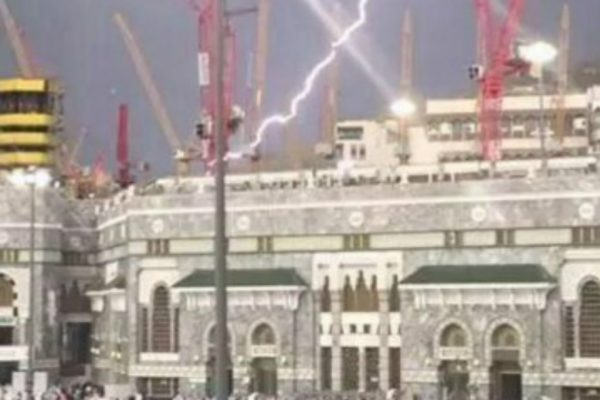 storm strikes mosque 9-11