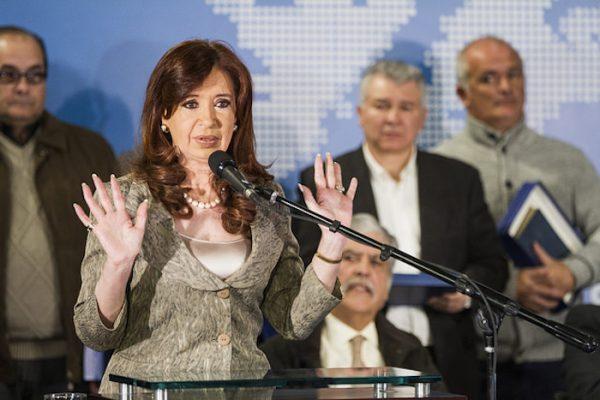 argentinian president christina fernandez
