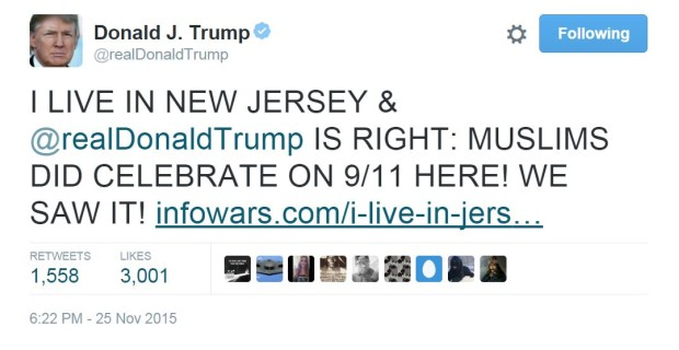 Trump Tweets Infowars; Liberals Go Into Meltdown