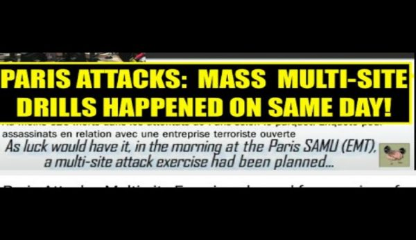 Emergency Drills Took Place On Morning Of Paris Terror Attacks