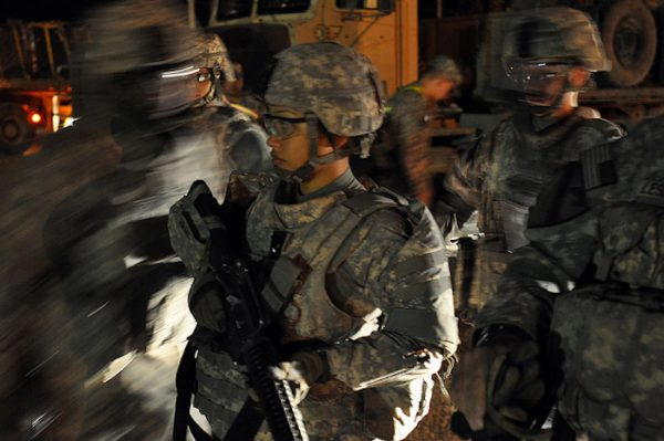 Washington, Tennessee Soldiers save time, support drawdown