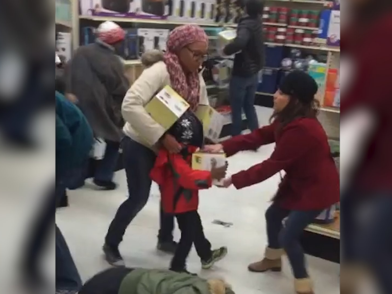 Black Friday: Americans Brawl Over Vegetable Steamers