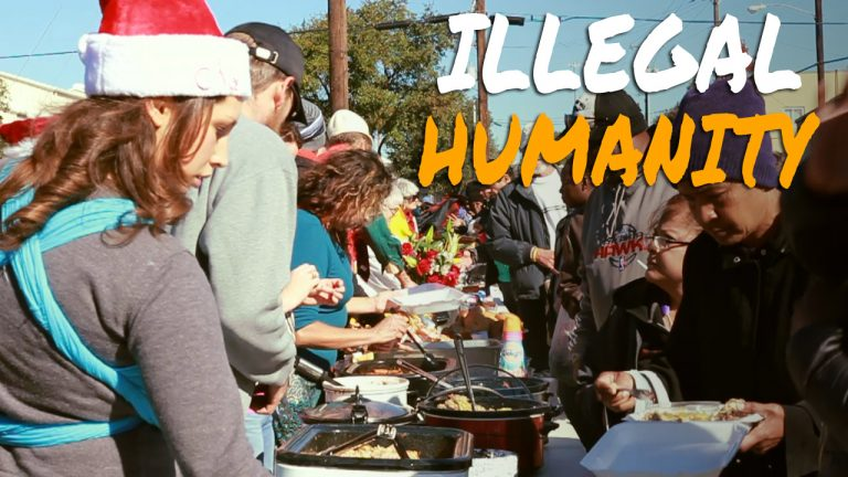 Armed Activists Feed Homeless in Texas in Defiance of Bad Law