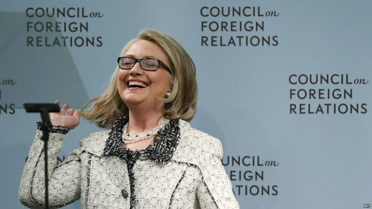Hillary Clinton Brags About Getting Her Marching Orders From The CFR