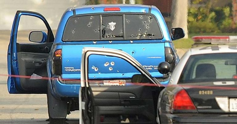 No Charges for Cops Who 'Accidentally' Fired 107 Bullets at an Innocent Mom and Daughter