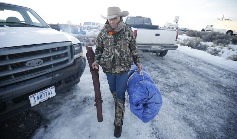 Enhanced Video Shows LaVoy Finicum Point Out Agent that Took First Shot at Him