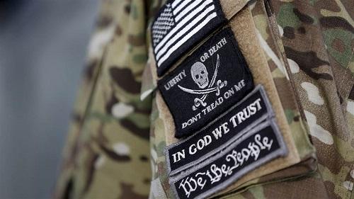 militia patch