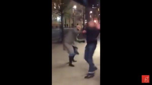 Must-Watch-German-Woman-Beats-Muslim-Harassing-Women-in-the-Street