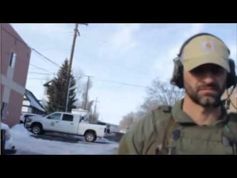 oregon paramilitary sightings