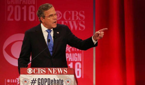 trump bush feud