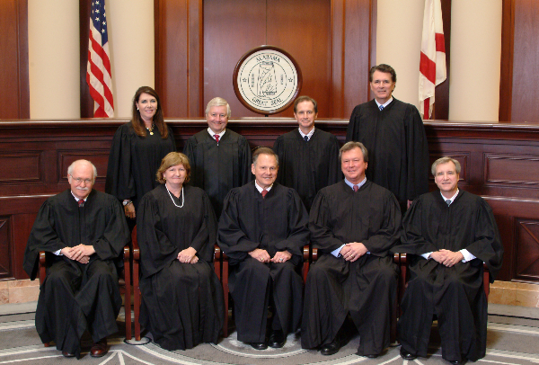 Alabama Supreme Court tells Supreme Court to Take a Hike on Marriage Opinion