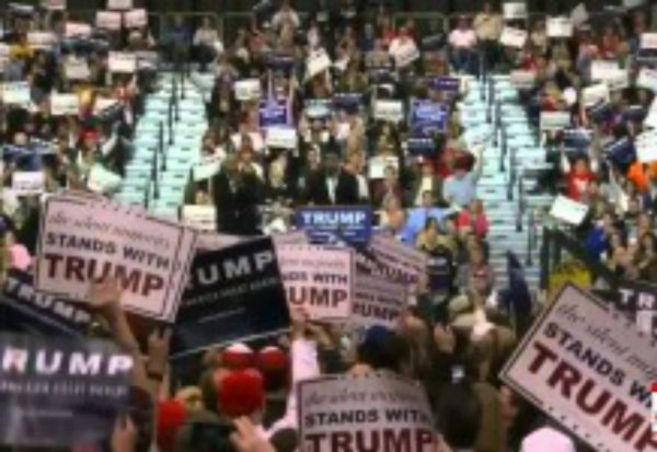 Black Pastor nails it at Trump rally, crowd goes wild
