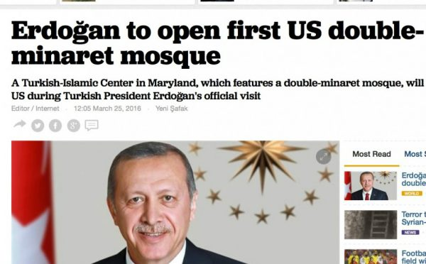 Obama & Turkish President to Attend Opening of Largest Mosque in the World