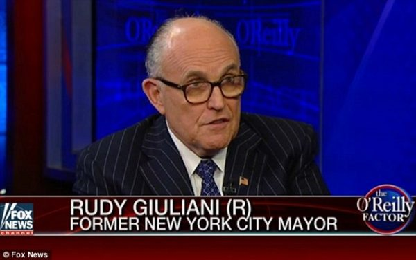 Rudy Giuliani - Hillary Could be Considered a Founding Member of the Islamic State