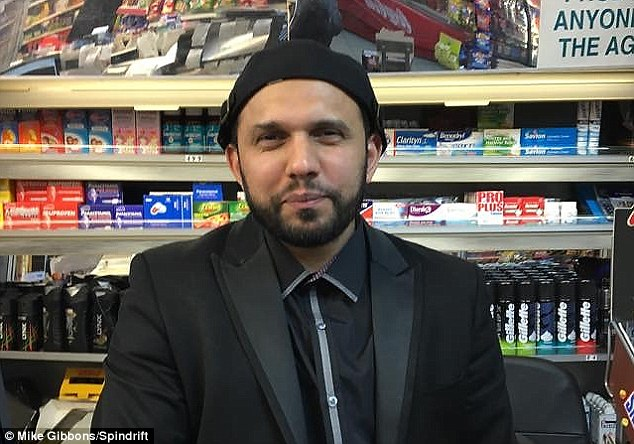 Muslim shopkeeper who wished his 'beloved Christian nation' a Happy Easter is stabbed 30 times by a FELLOW MUSLIM who sat laughing on his dying victim's chest