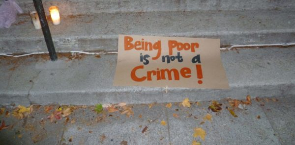 being poor is not a crime