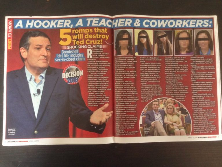 Ted Cruz evades reporter's question about his rumored adulterous affairs