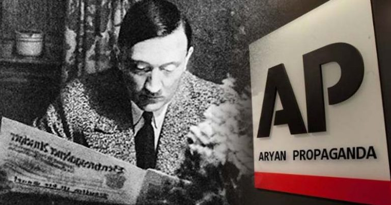REVEALED: World's Largest News Agency Worked with Hitler to Feed Americans Nazi Propaganda