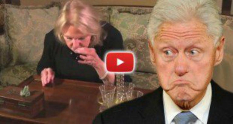 "Clinton's Former Lover: ""Bill Dressed in My Nightie and Snorted Cocaine Off my Table"""