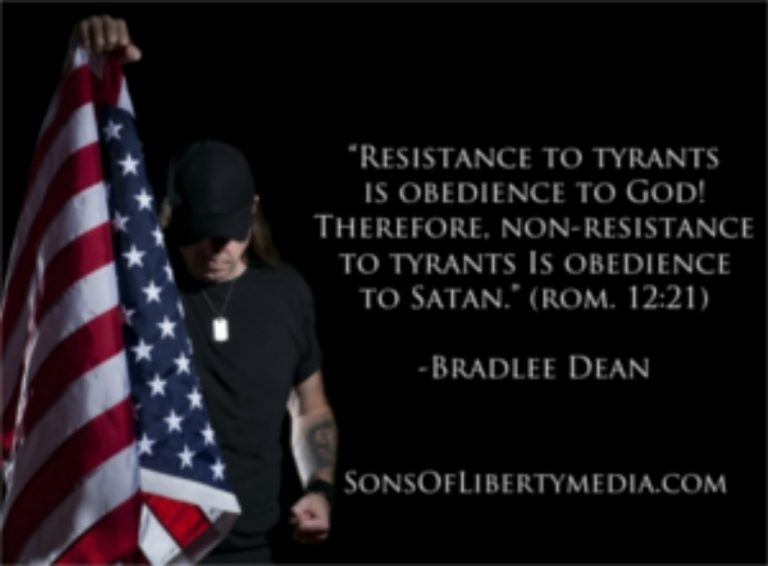 Non-Resistance to Tyrants is Obedience to Satan!