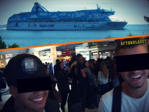 gang rape swedish cruise
