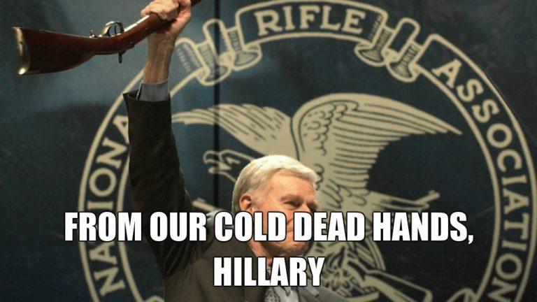 "Hillary On Using Executive Orders to Take Guns: ""Amen"""