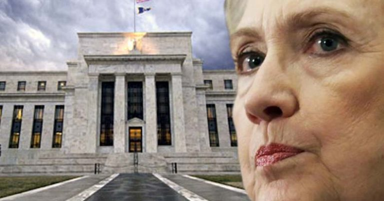 Records Show Clinton Only Candidate to Receive Campaign Money from Federal Reserve Officials