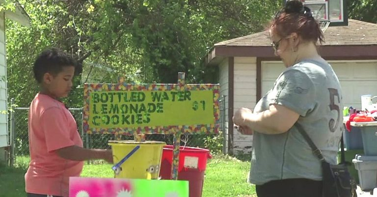 This 9-Year-Old Boy Sold Lemonade to Pay for His Own Adoption