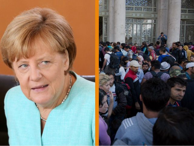Chancellor Angela Merkel Telling Europeans That Muslim Migrants Will Become The Continent's New Workforce