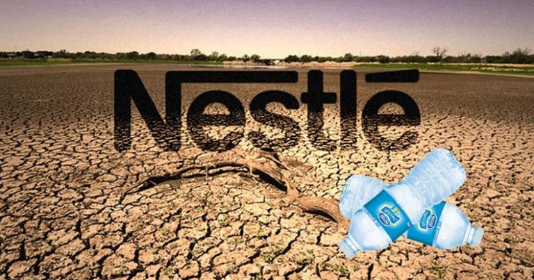 """""""Nestlé is Trying to Break Us"""" Town Fights to Stop Bottled Water Megacorp from Stealing their Water"""