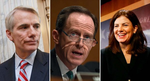Portman, Toomey and Ayotte