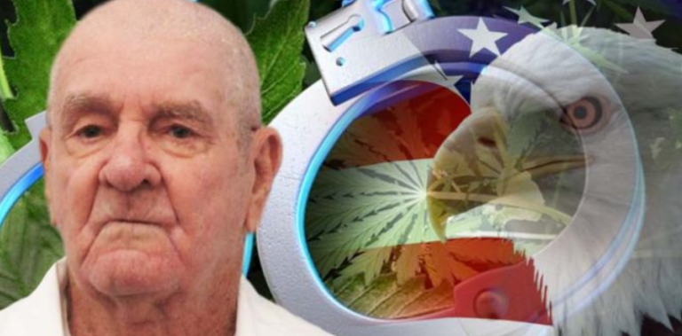 After Fighting for Freedom, 76-yo Vet Sentenced to Die In Prison for Treating His Illness With Pot