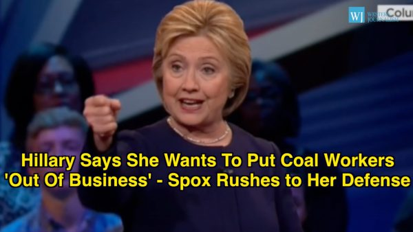 hillary coal workers