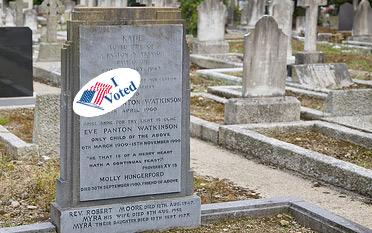 i voted tombstone